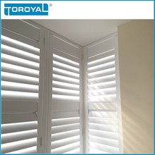 white varieties width louver for interior and exterior plantation window shutters for sale