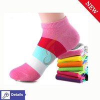High quality breathable women cotton ankle socks