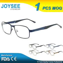Hot-Selling Joysee Manufacturers Company Branded Trendy Design Classic Metal Optical Eye Glasses Frames Men Fashion