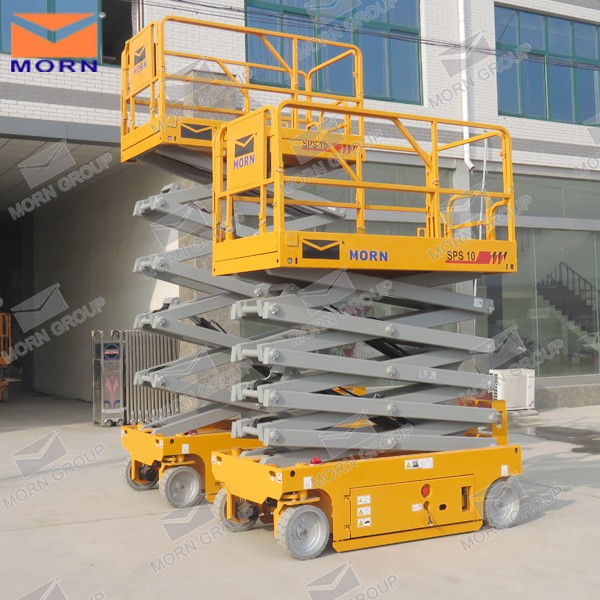 Self propelled electric scissor lifter price