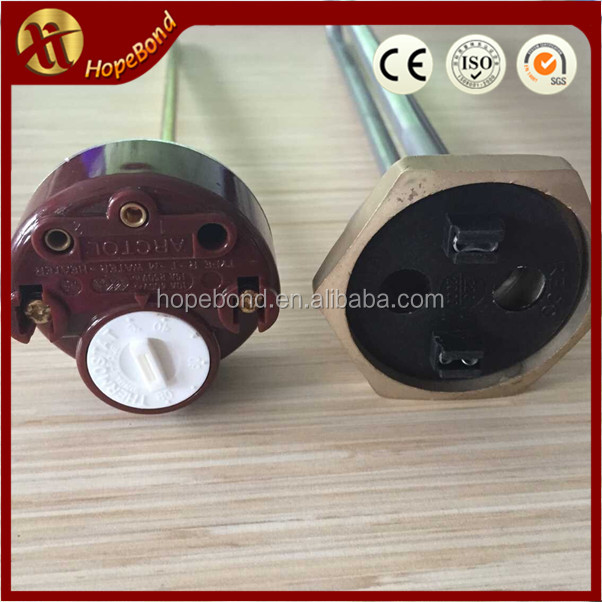 12v 500w ss304 water tank flange tubular heater