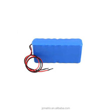 Rechargeable 18650 Lithium Ion Battery Pack for LED Lights with Wire