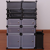 Living room furniture portable cabinets plastic containers storage (FH-AL032)