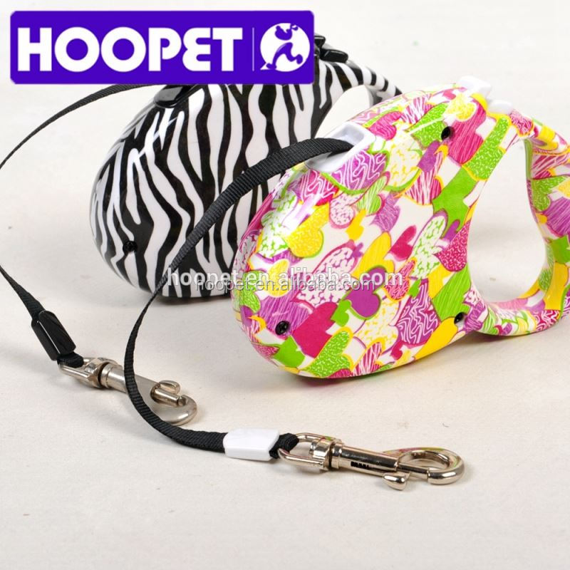 HOOPET colorful pet collar and leash nylon pet products