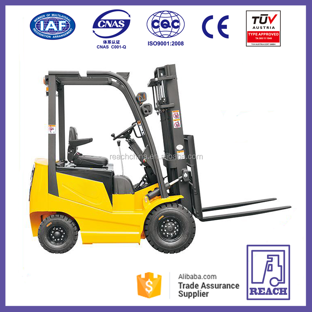 Chinese AC Motor Power Souce 1.5 Ton Electric Forklift Price