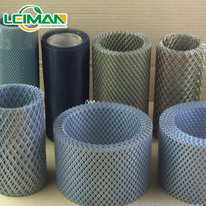 1000 mm filter mesh in roll for truck air filter expanded metal filter mesh