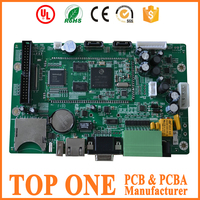 CCTV electronic PCB board assembly , Camera PCB assembly manufacturer with SMT and DIP OSP service
