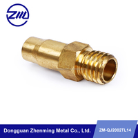 CNC lathe precision machining brass truck spare parts