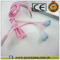 Nice earphone For iPhone 5 colorful headphone cheap