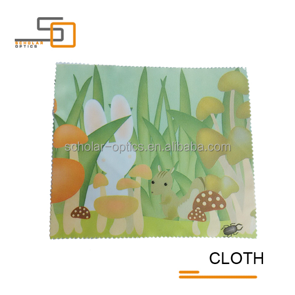High-quality products Microfiber Digital printing customized 80% Polyester,20% Nylon material,220gsm Cleaning Cloth