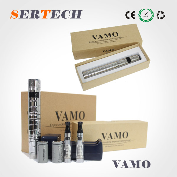 Newest design chrome, stainless electronic cigarette lavatube vamo v2/electronic cigarette cloutank c1/e cig cloutank m3