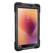 China Wholesale 360 Degree Rotating Kickstand PC Silicone Tablet Case 8 T380 T385, Waterproof Case For Samsung Galaxy Tab s sm