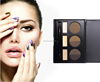 Private Label Wholesale Eyebrow 6 Color High Pigment Eyebrow With 3 Color Concealer Palette