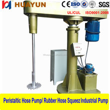 22kw fully explosion proof chemical double shaft disperser emulsifier homogenizer mixer