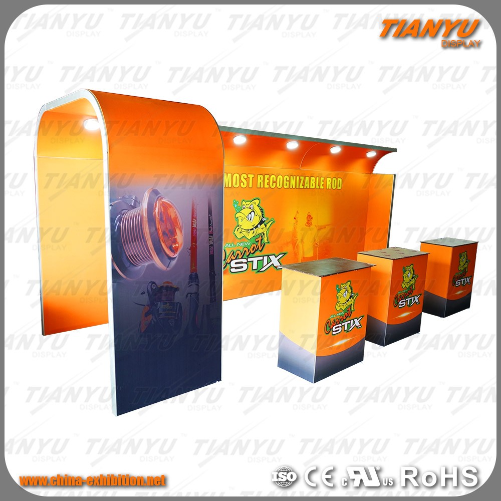 New Ideas Aluminium Extrusion Exhibition Booth Trade Show Display