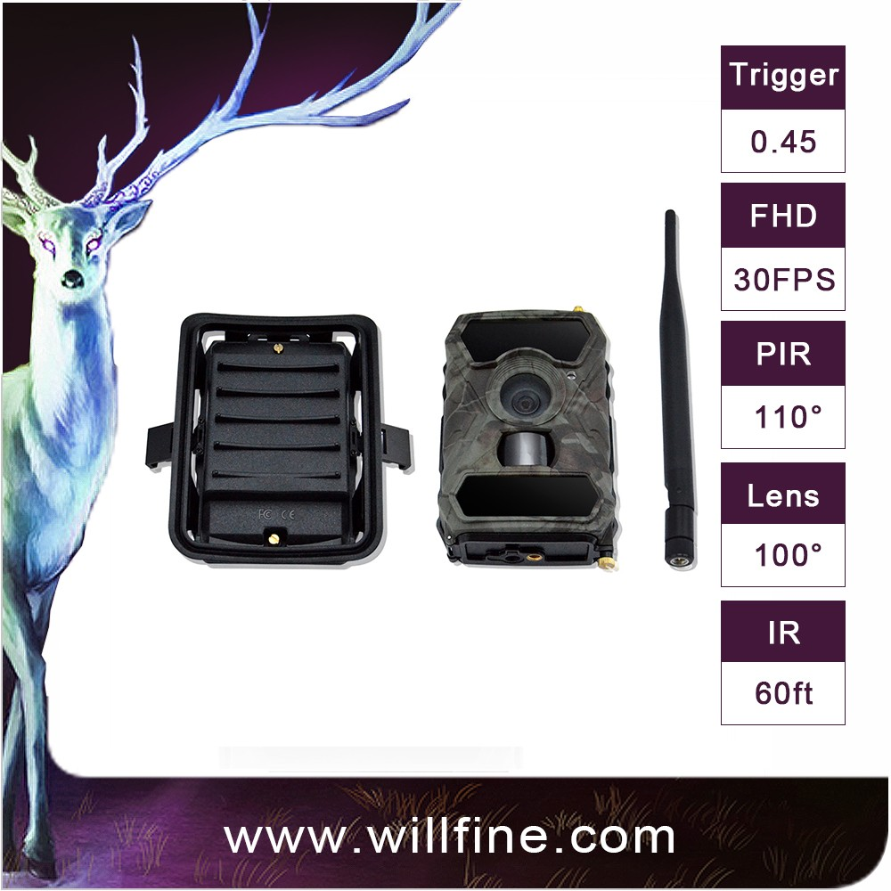 Time lapse no flash 12MP 3G Wifi mini outdoor hidden camera Chinese OEM/ODM hunting trail camera
