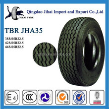 Chinese discount reliable radial truck tyre 445 / 65R22.5