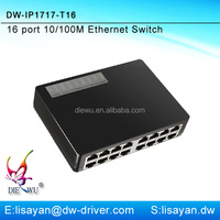 New arrival 16 ports 10/100Mbps SOHO Ethernet Network Switch