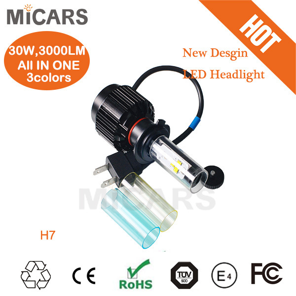 Samples Are Available High Intensity Ce Rohs Certified H7 High Power Led Car Headlight Canbus CR * EE Wholesale