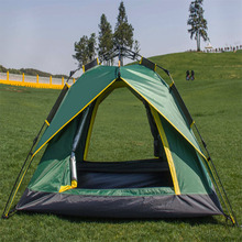 Four Room 15 Person Large Luxury Family Camping Tent