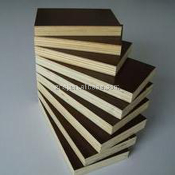 pine and poplar film faced plywood formwork for construction