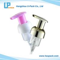 40mm plastic foam soap dispenser pump with cheap price