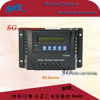 solar charge controller LCD display for off grid 5kw solar system use