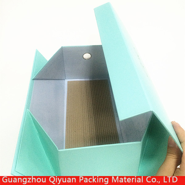 Wholesale high quality luxury magnetic folding cardboard carton box for shoe