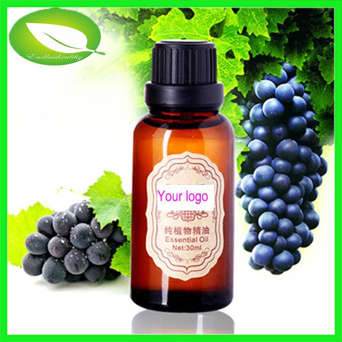 100% natural pure high quality low price organic grape seed oil