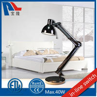 35W Foldable Iron Table Lamp Reading Lamp Work Light