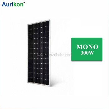300W Monocrystalline solar panel /portable solar charging kit OEM to Syria Pakistan Russia Thailand