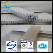 u-lock polycarbonate hollow sheet