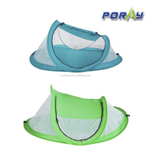 Poray green&blue baby sleep bed /outdoor Travel Tent /baby crib tent mosquito tent with sun shade UV-resistant for summer