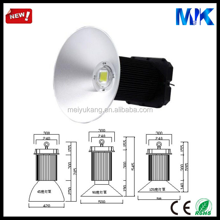 Top selling high power 400W led highbay light component with heat pipe heat sink