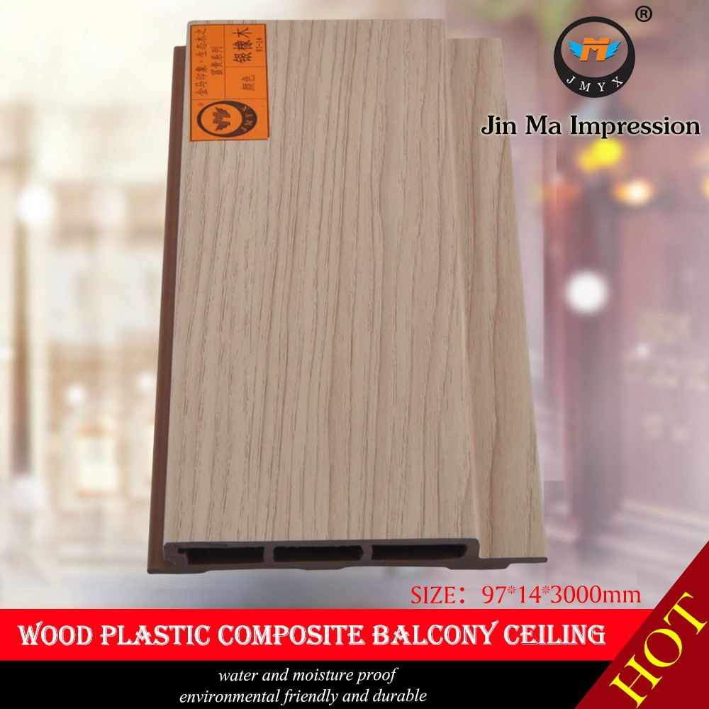 2016 New Hot Product Crack Resistant Ecological Wood Plastic Wallboard