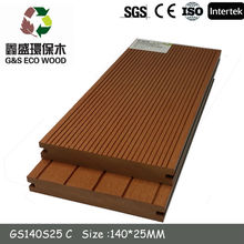 2014 Solid wpc Decking/WPC decking form Zhejiang