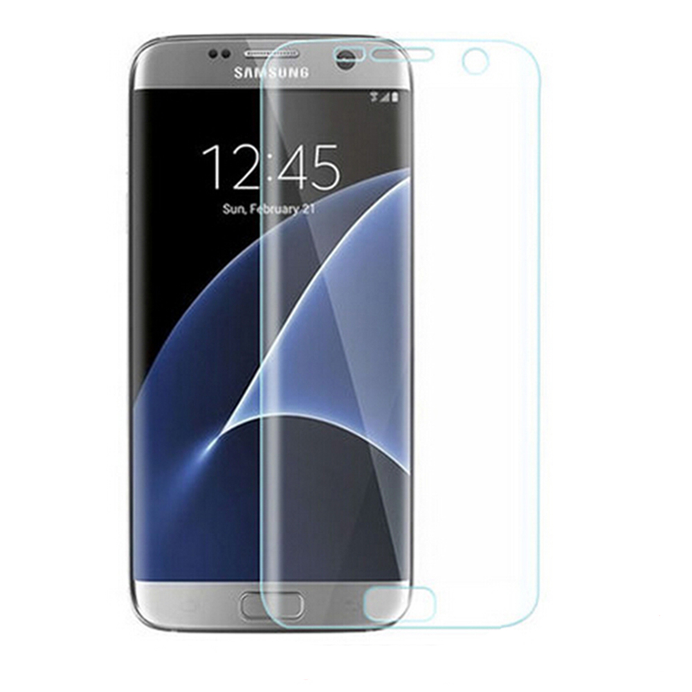 New UltraThin HD Full Clear Curved Film Screen Protector for Samsung Galaxy S7 edge screen protector