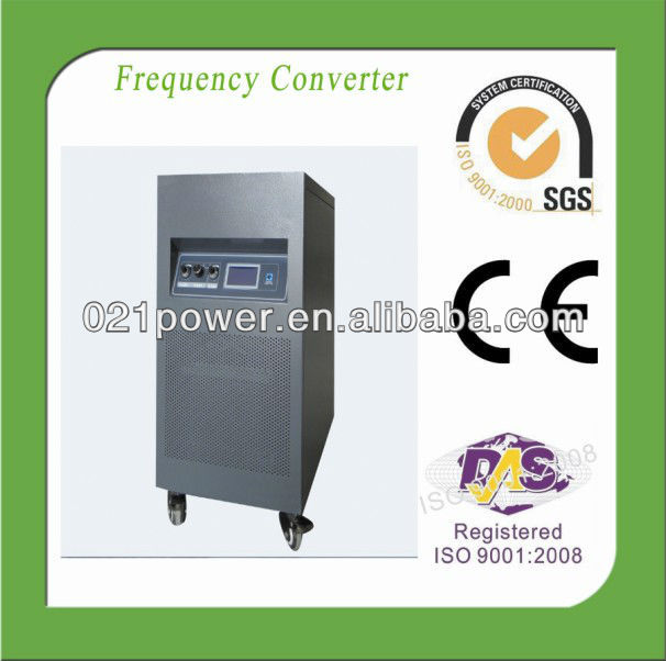 415v 50hz to 230v 60hz ac frequency coverter