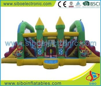 GMIF-6204 high quality waterpark games spring toy bouncing alibaba-inflatable castle