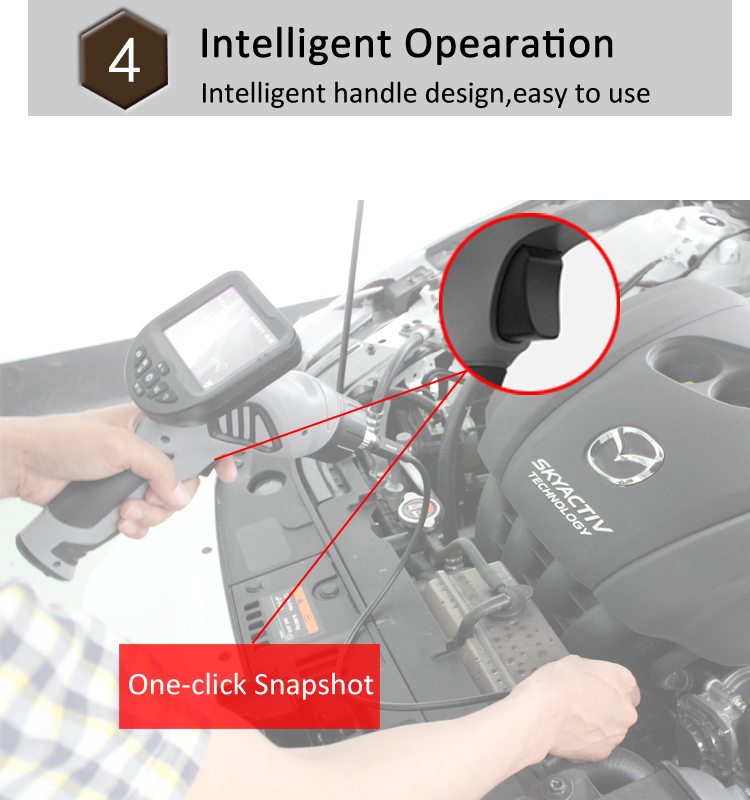 China Supplier vehicle diagnostic radiator inspection borescope camera