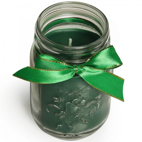 Bulk pine scented soi personalised engagement jar candles