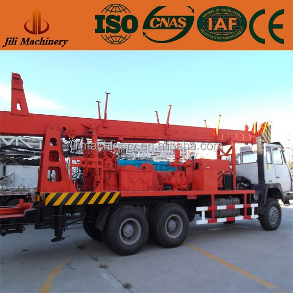 Portable used water well drilling equipment for sale