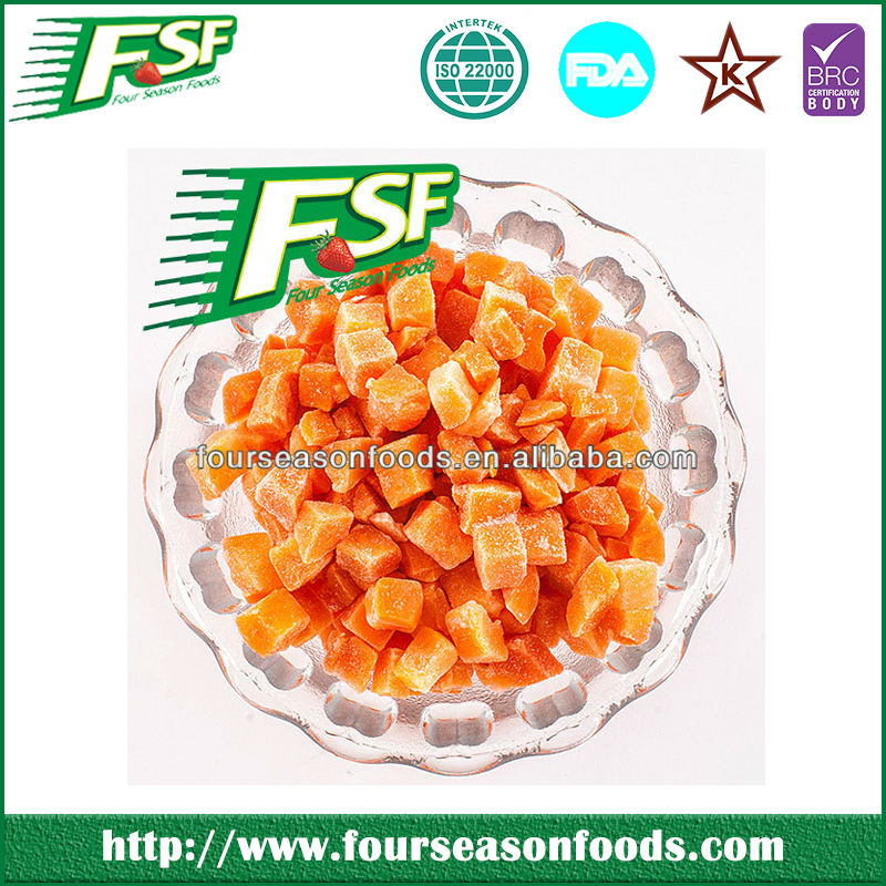 Frozen Chinese Food Brands, IQF/frozen Carrot, Frozen Food