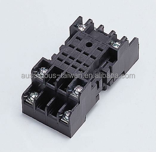 8 Pins Non-finger Protected Relay Socket NDSQ-8