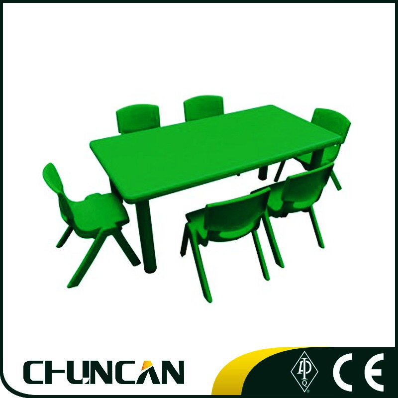 2016 Chuncan High Quality Plastic Tables