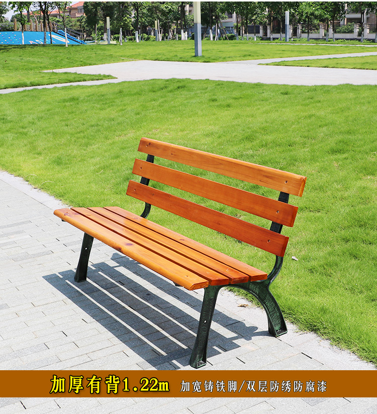 2012 new model simple design wood bench,professional manufacturer export wooden bench (A-15807)