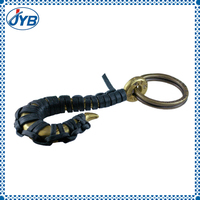 High quality custom made bungee cord key chain for souvenir