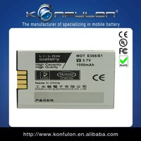 lithium ion rechargeable battery 1050mah for motorola e398