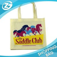 Durable Stitching Custom Heat Transfer shopping bag nonwoven