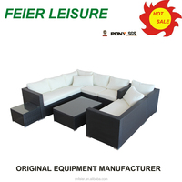 new style rattan outdoor sofas uk with high quality